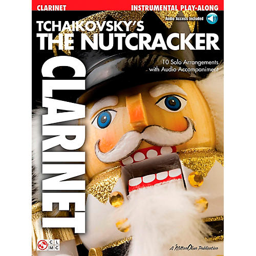 Cherry Lane The Nutcracker Clarinet Book/CD Tchaikovsky's thumbnail