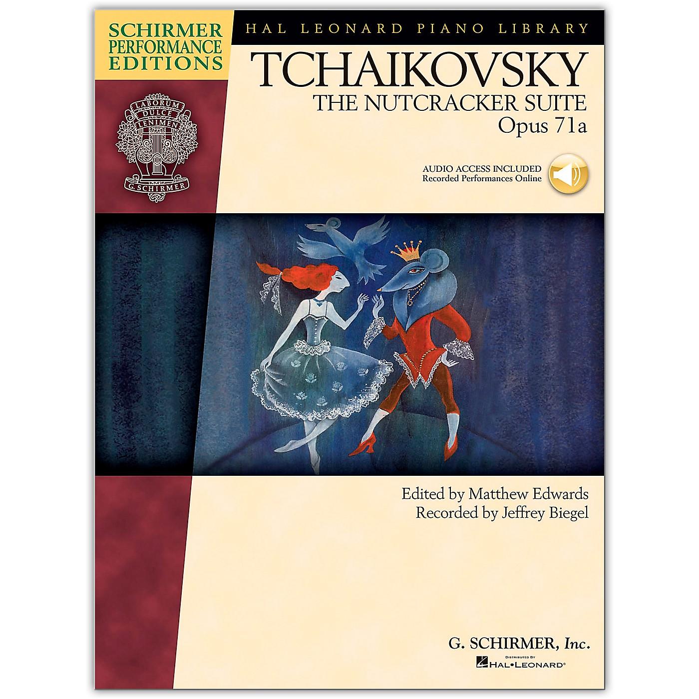 G. Schirmer The Nutcracker Suite Opus 71 - Schirmer Performance Edition Book/Online Audio By Tchaikovsky / Esipoff thumbnail