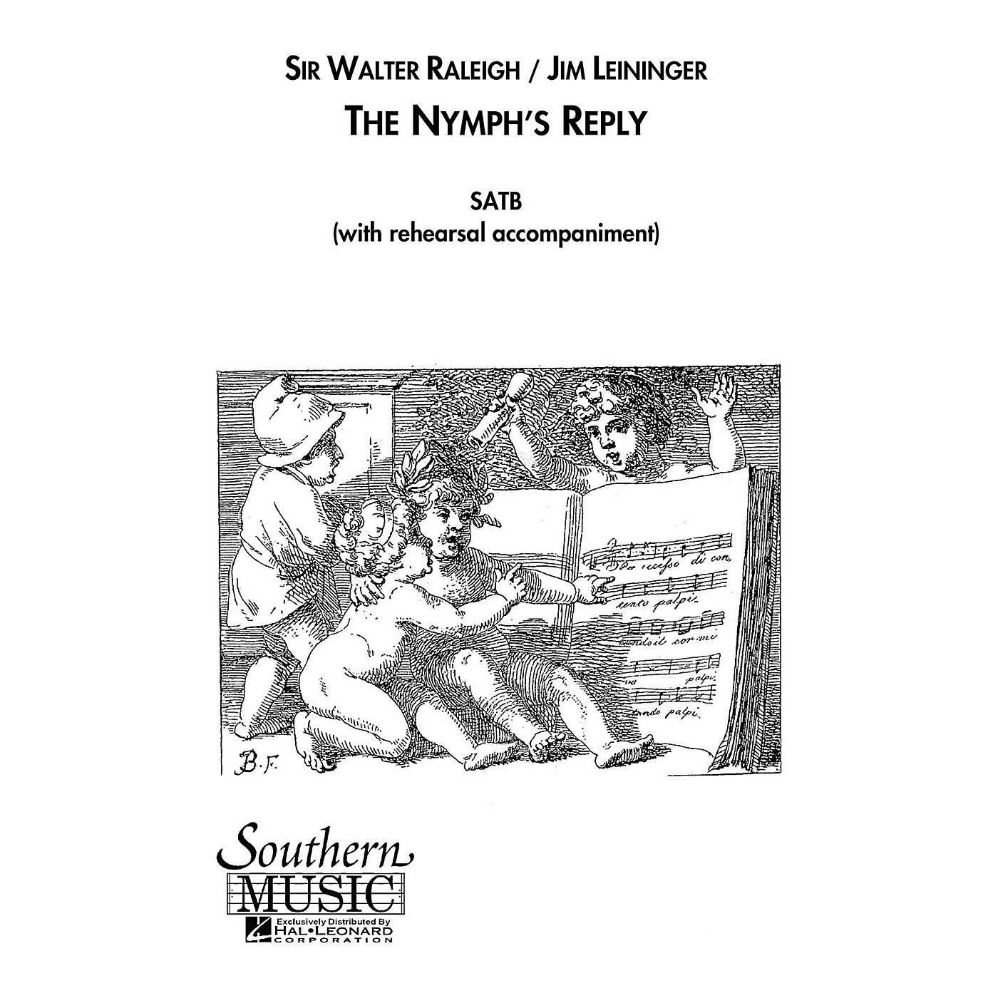 Hal Leonard The Nymph's Reply (Choral Music/Octavo Secular Satb) SATB Composed by Leininger, Jim thumbnail