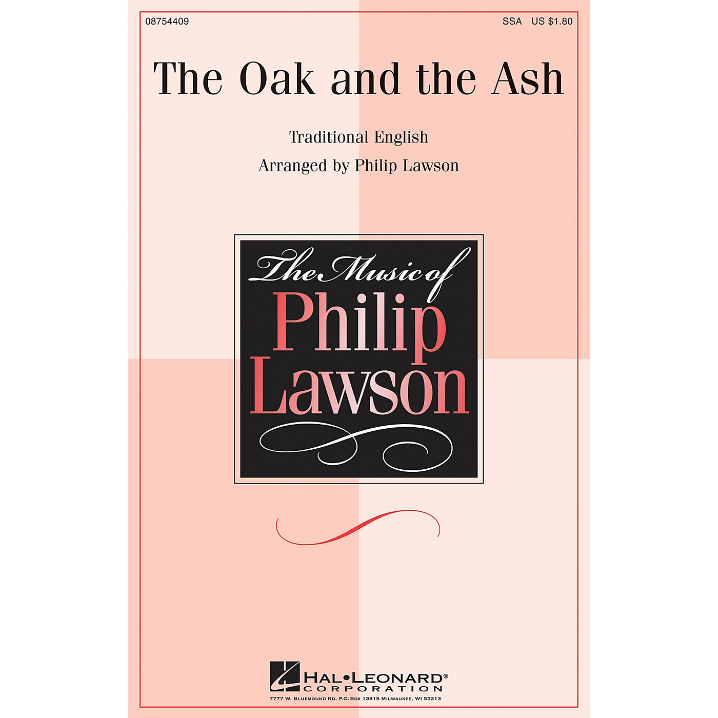 Hal Leonard The Oak and the Ash SSA arranged by Philip Lawson thumbnail