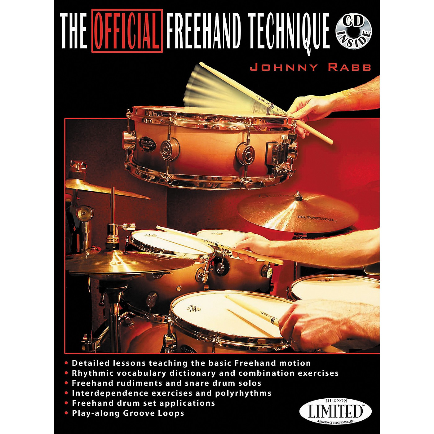 Hudson Music The Official Freehand Technique Johnny Rabb Book/CD thumbnail