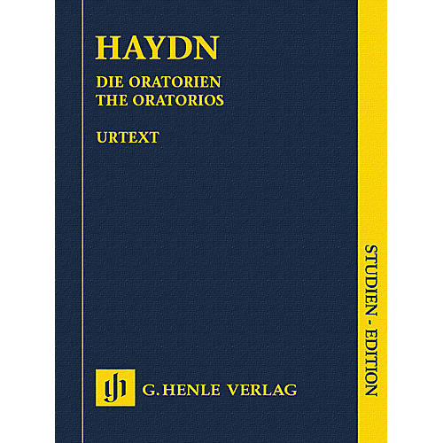 G. Henle Verlag The Oratorios Henle Study Scores Series Hardcover Composed by Joseph Haydn Edited by Armin Raab thumbnail