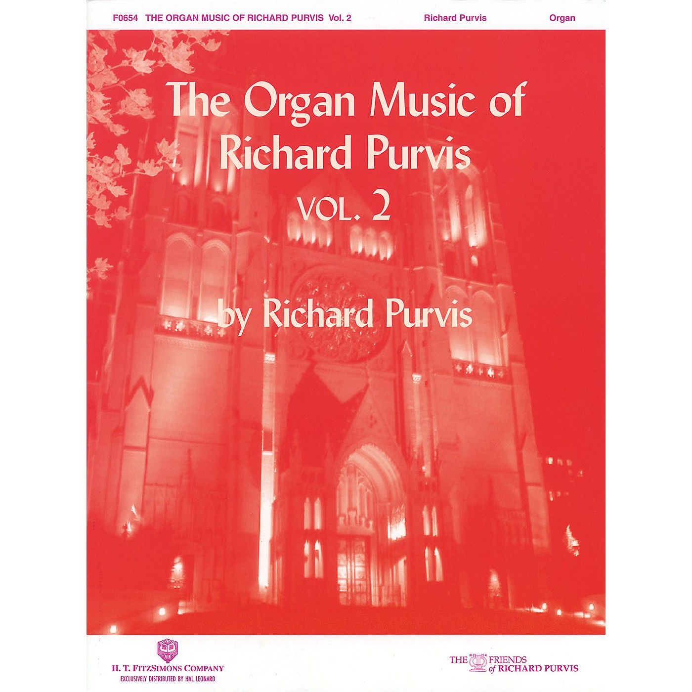 H.T. FitzSimons Company The Organ Music of Richard Purvis - Volume 2 H.T. Fitzsimons Co Series thumbnail