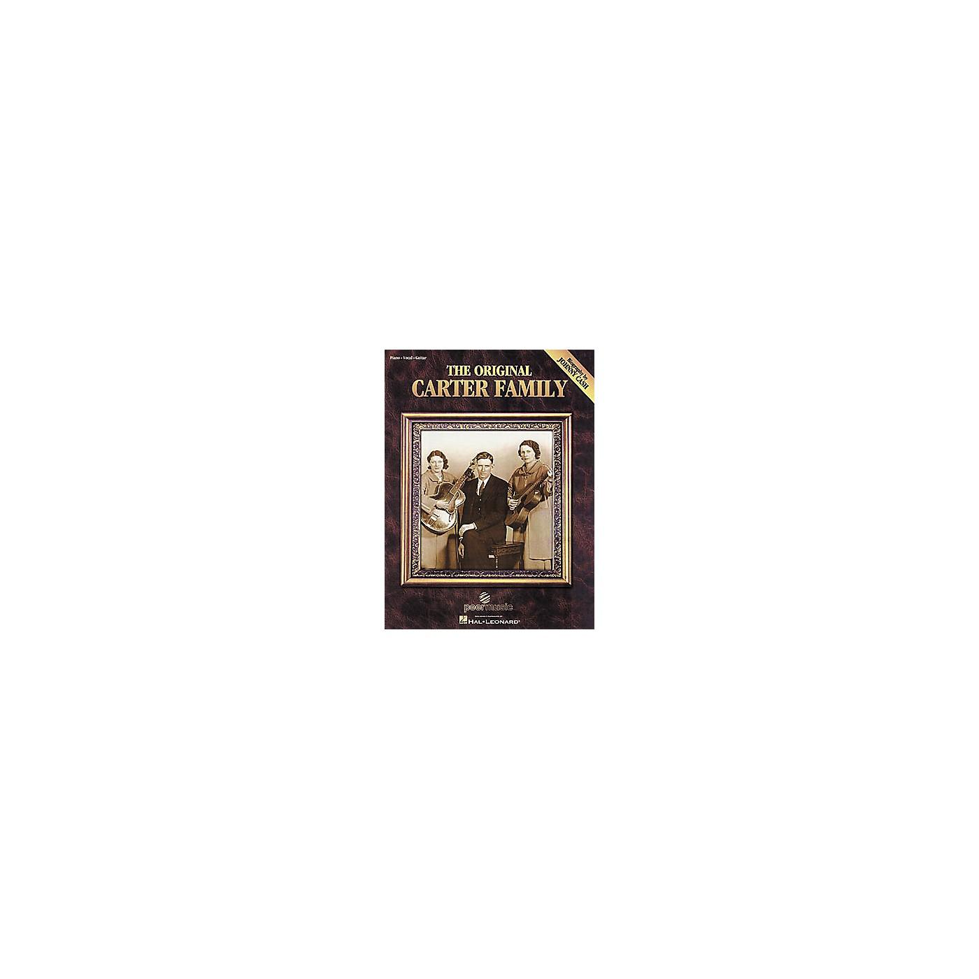Hal Leonard The Original Carter Family Songbook thumbnail