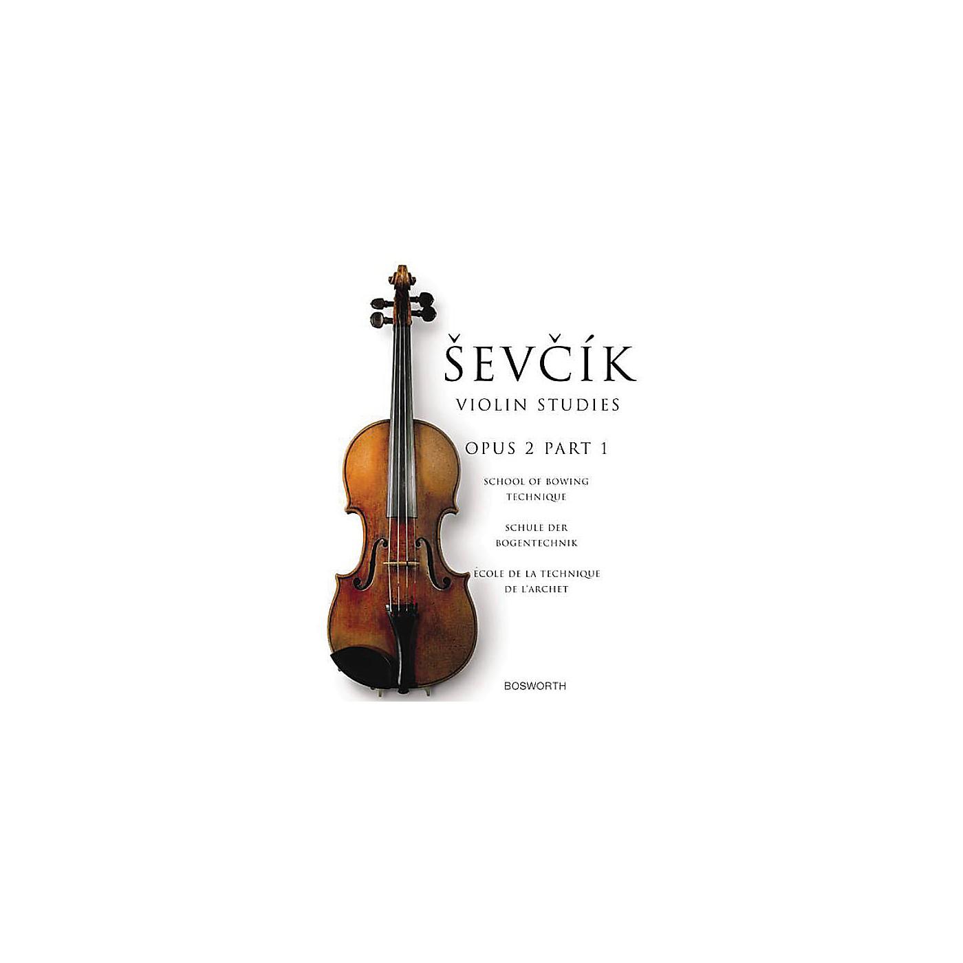 Music Sales The Original Sevcik Violin Studies: School of Bowing Technique Part 1 Music Sales America Series thumbnail