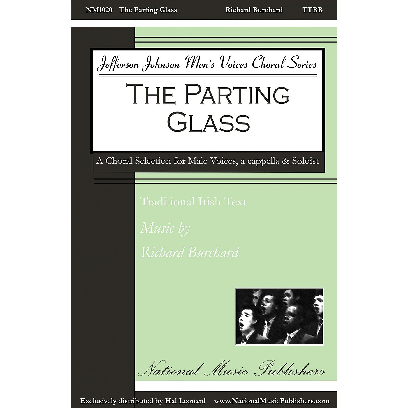 National Music Publishers The Parting Glass TTTBBB A CAPPELLA composed by Richard Burchard thumbnail