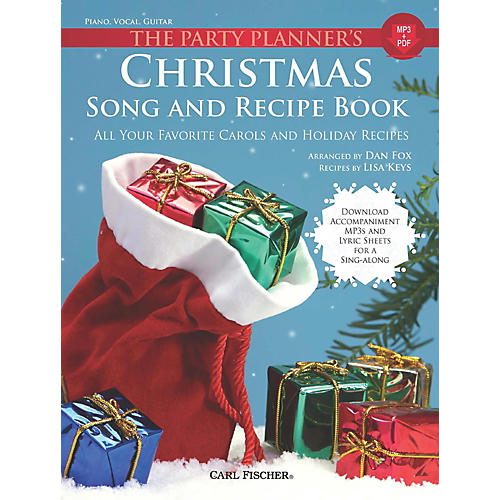 Carl Fischer The Party Planner's Christmas Song and Recipe Book - Piano/Vocal/Guitar thumbnail
