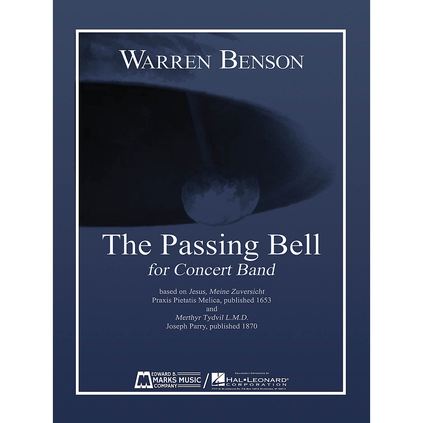 Edward B. Marks Music Company The Passing Bell Concert Band Level 5 Composed by Warren Benson thumbnail