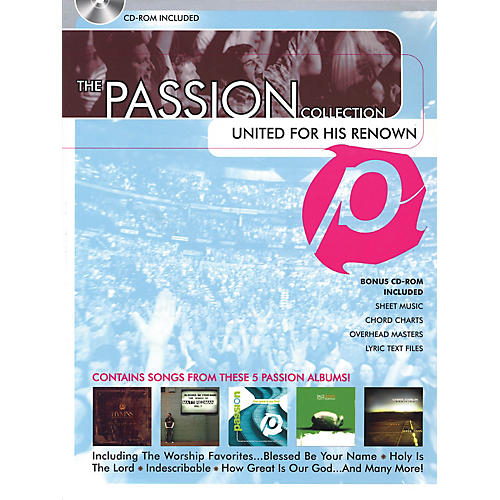 Hal Leonard The Passion Collection - United for His Renown Sacred Folio Series Softcover with disk by Passion thumbnail