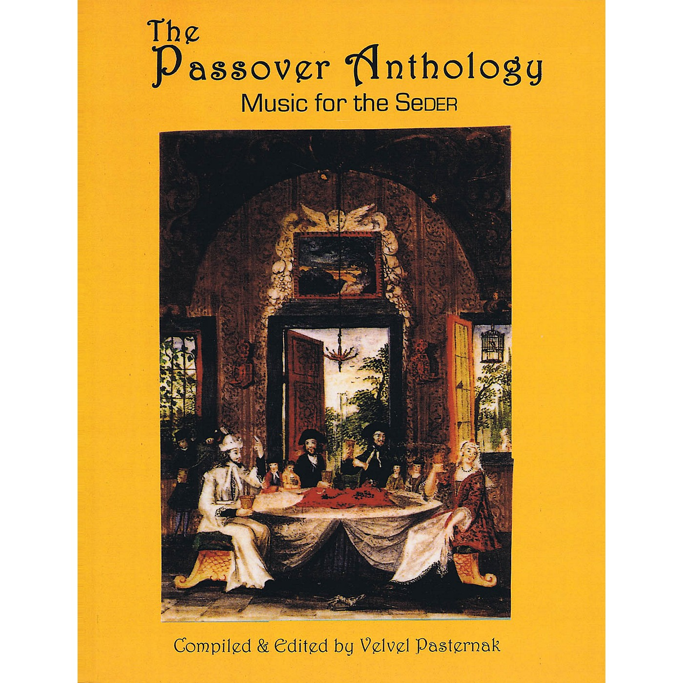 Tara Publications The Passover Anthology (Music for the Seder) Tara Books Series Softcover thumbnail