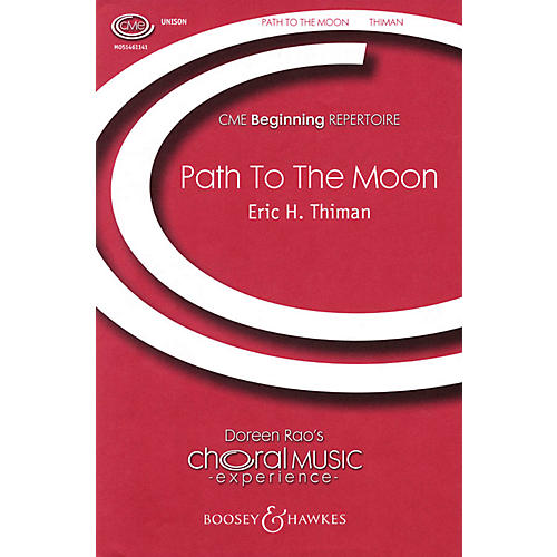 Boosey and Hawkes The Path to the Moon (CME Beginning) UNIS composed by Eric H. Thiman thumbnail