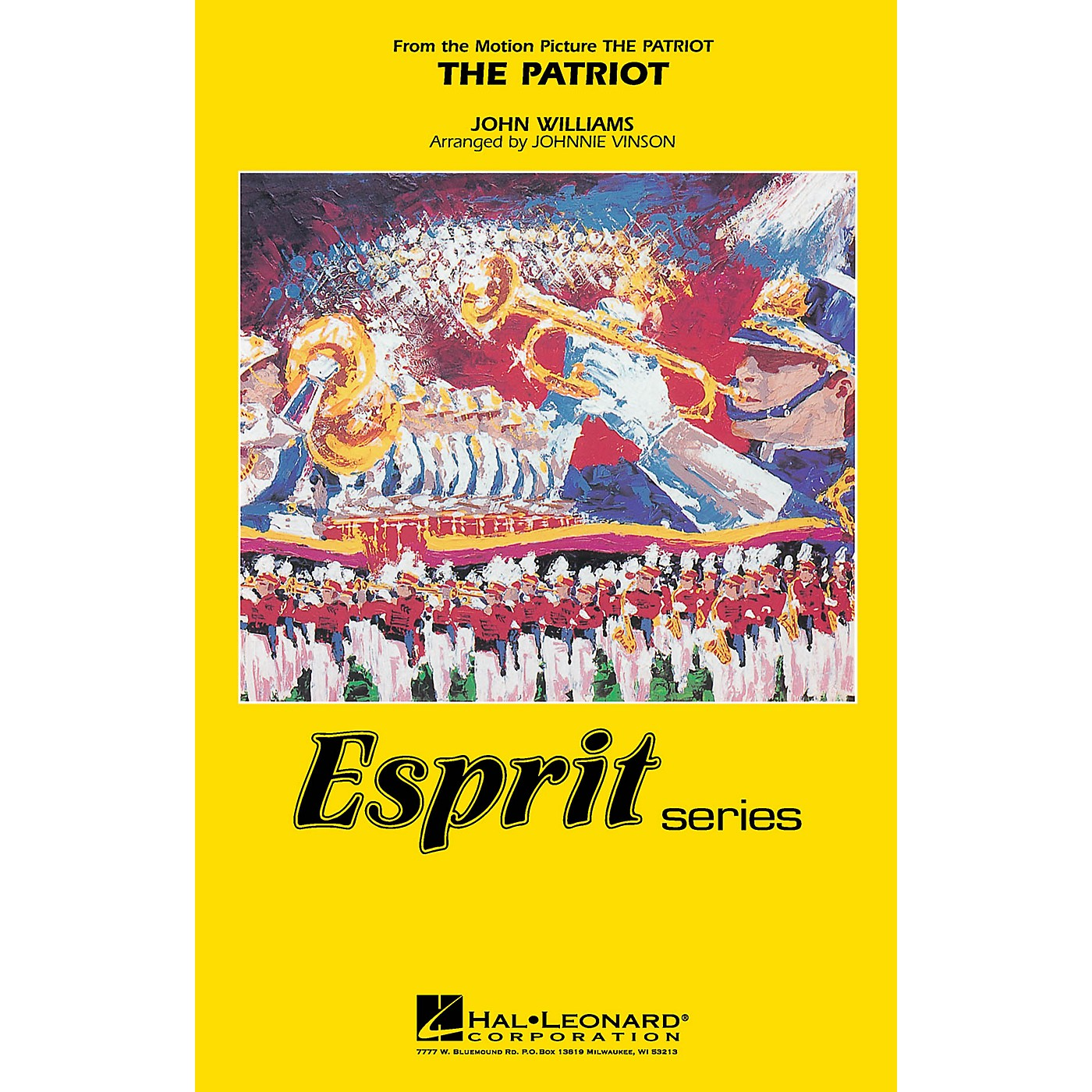 Hal Leonard The Patriot Marching Band Level 3 Arranged by Johnnie Vinson thumbnail