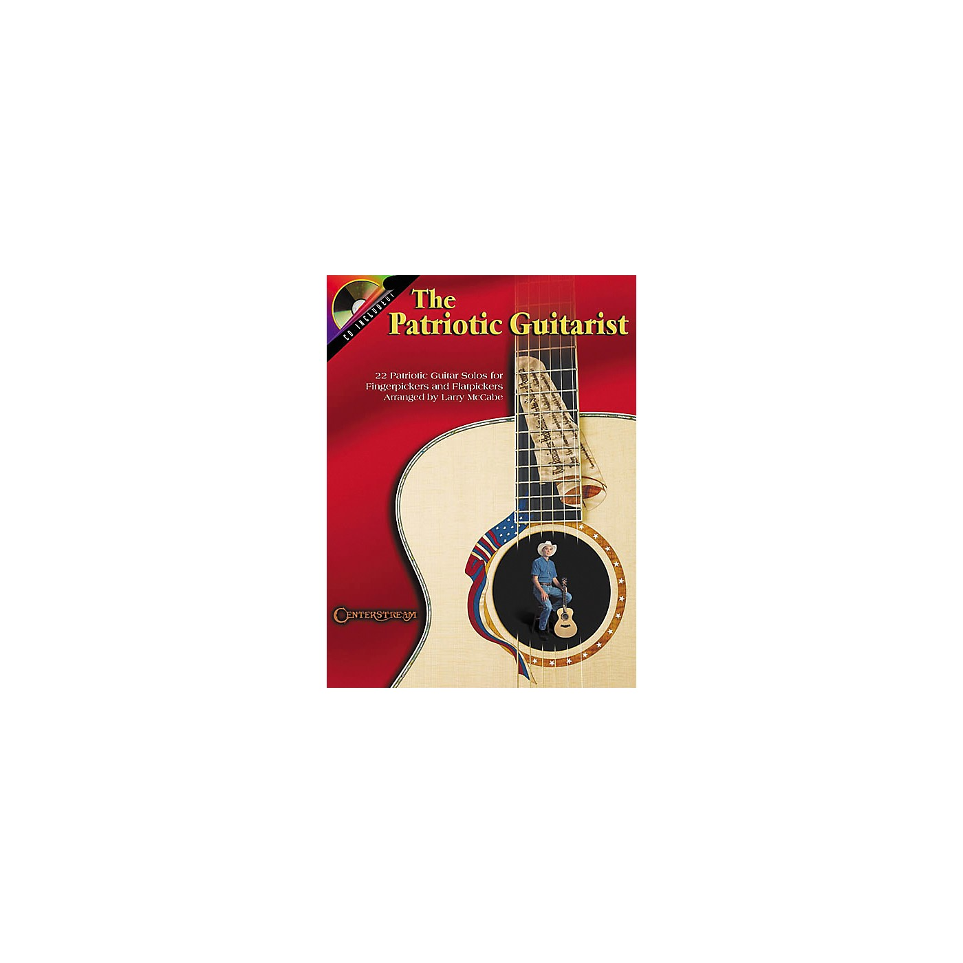 Centerstream Publishing The Patriotic Guitarist (Book/CD) thumbnail