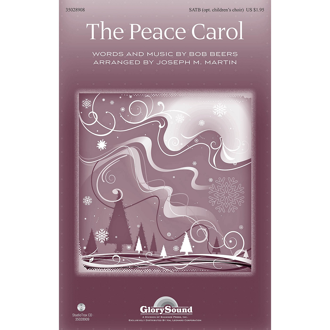 Shawnee Press The Peace Carol Studiotrax CD by John Denver Arranged by Joseph M. Martin thumbnail