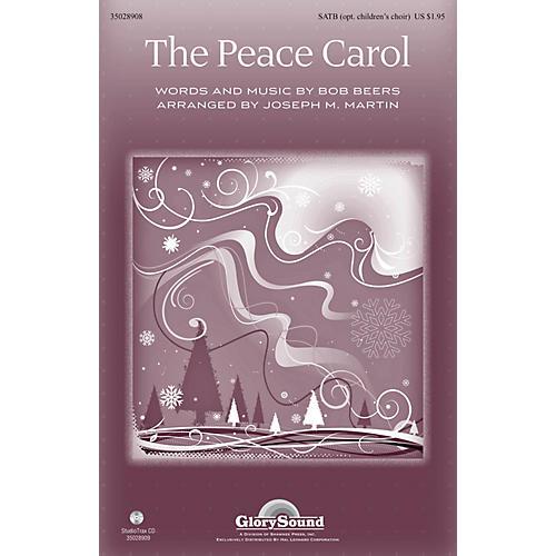 Shawnee Press The Peace Carol Studiotrax CD by John Denver Arranged by Joseph M. Martin thumbnail