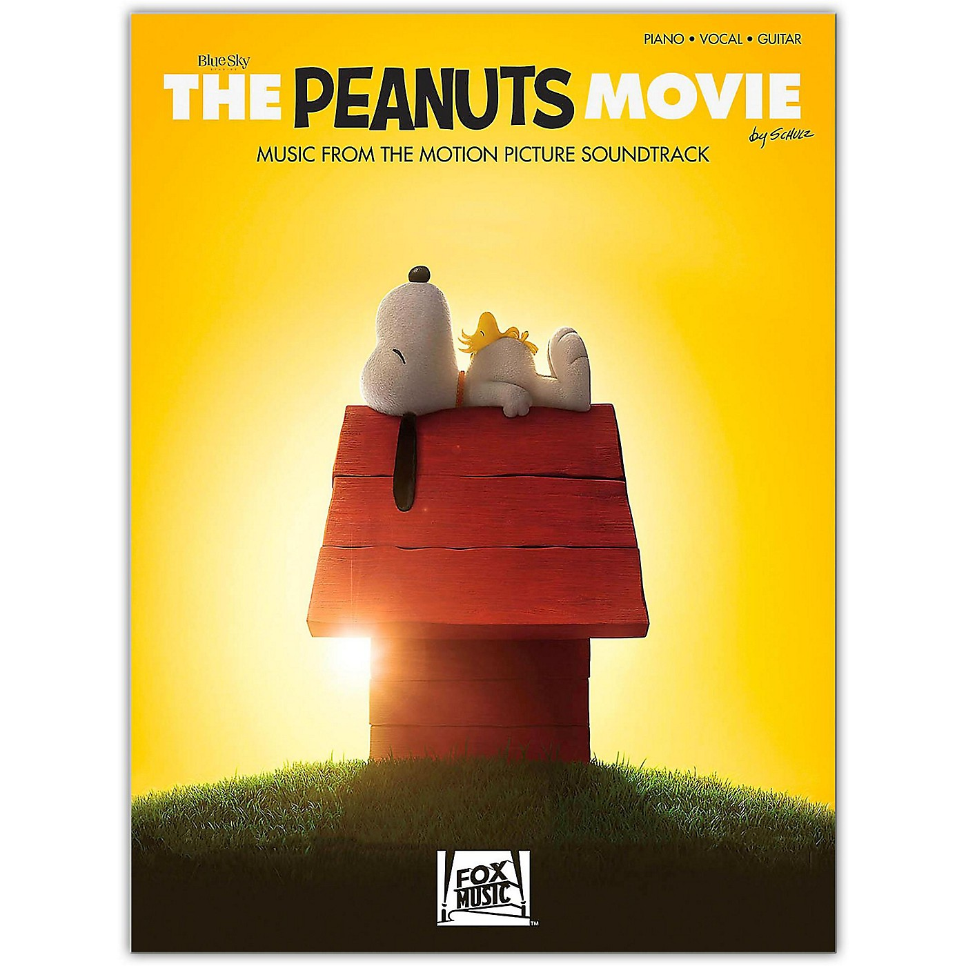 Hal Leonard The Peanuts Movie - Music from the Motion Picture Soundtrack  Piano/Vocal/Guitar Songbook thumbnail