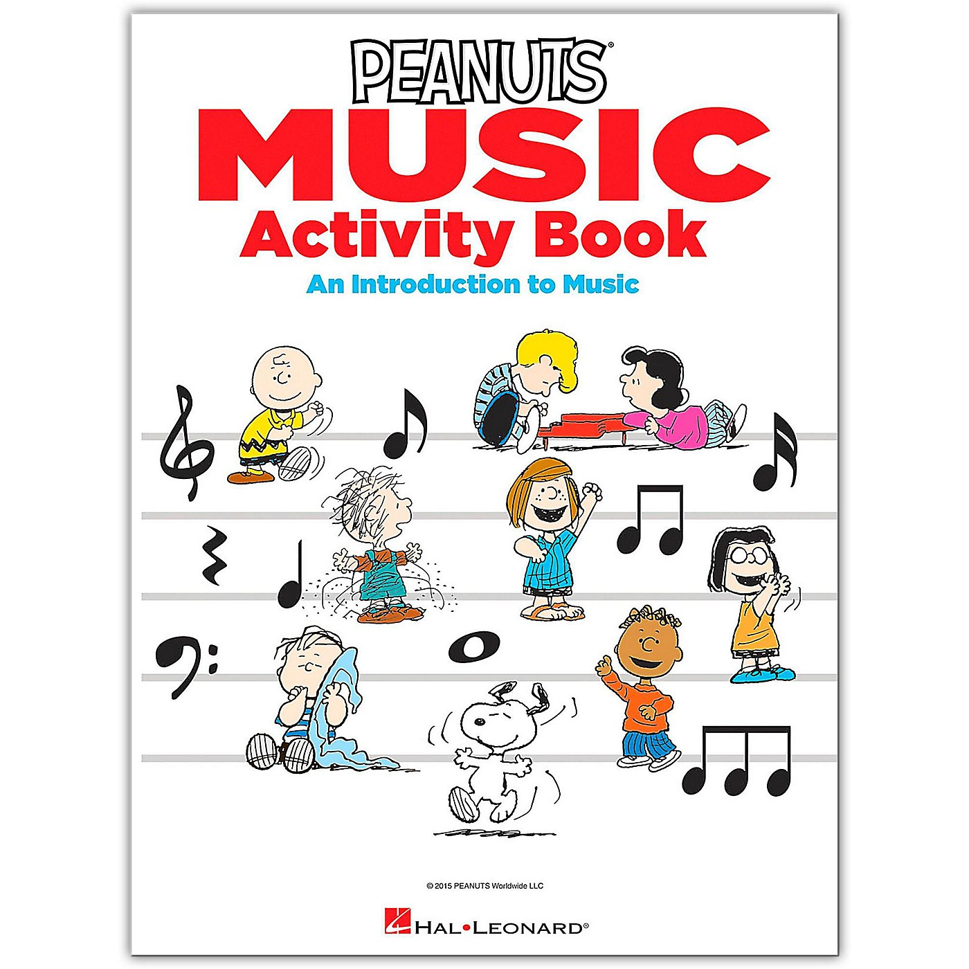 Hal Leonard The Peanuts Music Activity Book - An Introduction to Music thumbnail