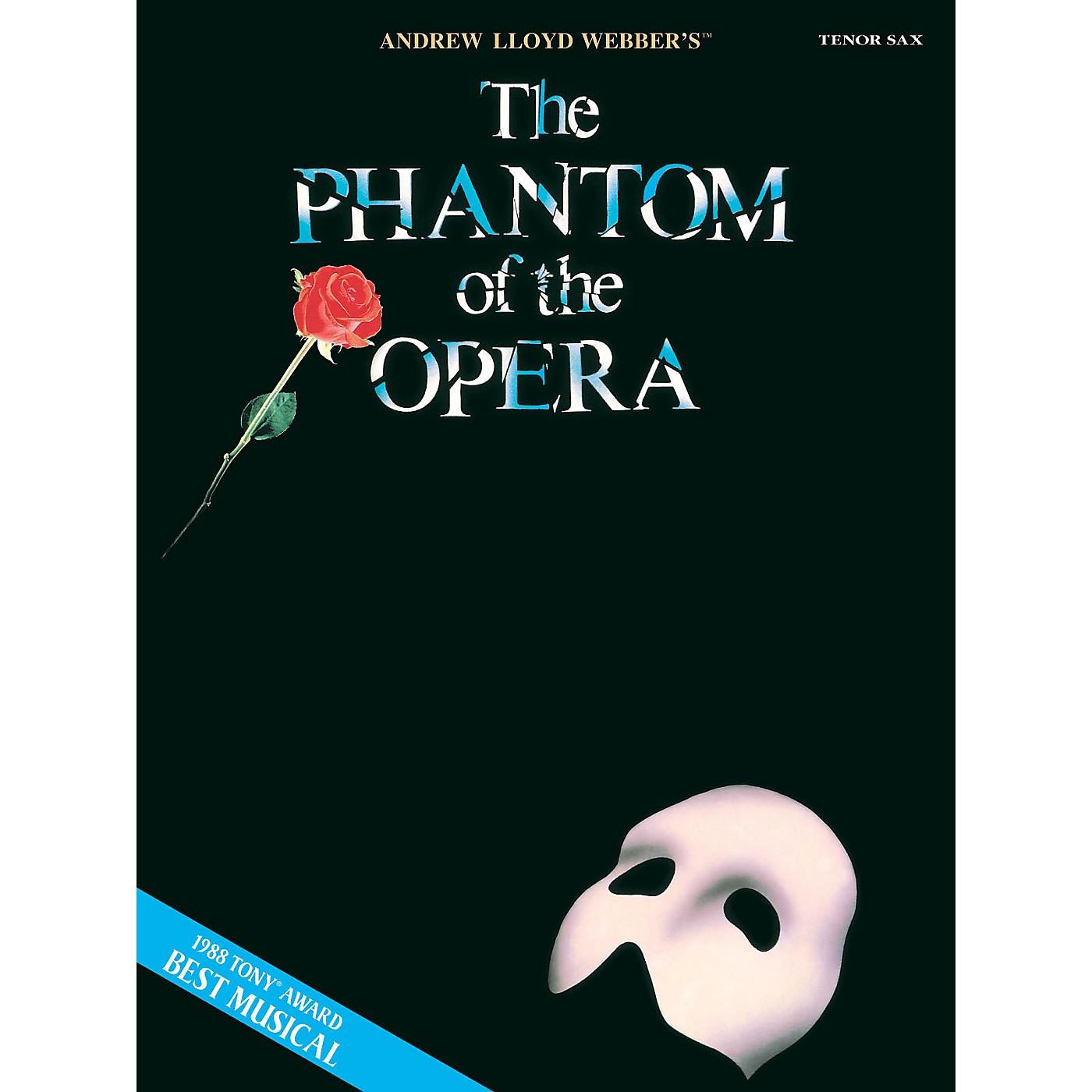 Hal Leonard The Phantom of the Opera (Instrumental Solos for Tenor Sax) Instrumental Solo Series thumbnail