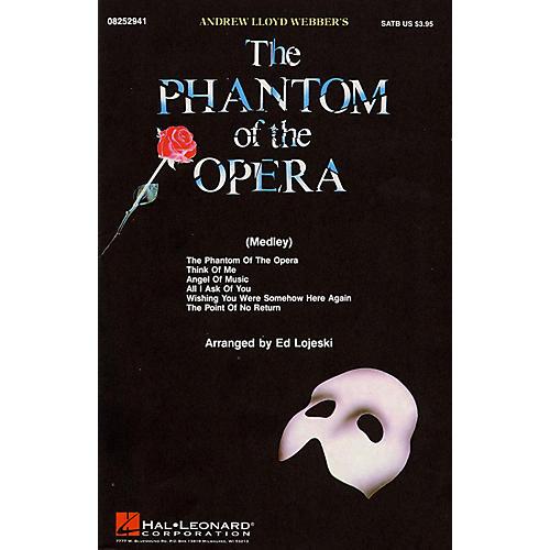 Hal Leonard The Phantom of the Opera (Medley) ShowTrax CD Arranged by Ed Lojeski thumbnail