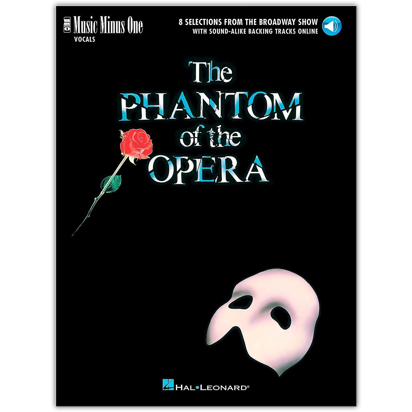 Music Minus One The Phantom of the Opera Music Minus One Vocal Book/Audio Online thumbnail