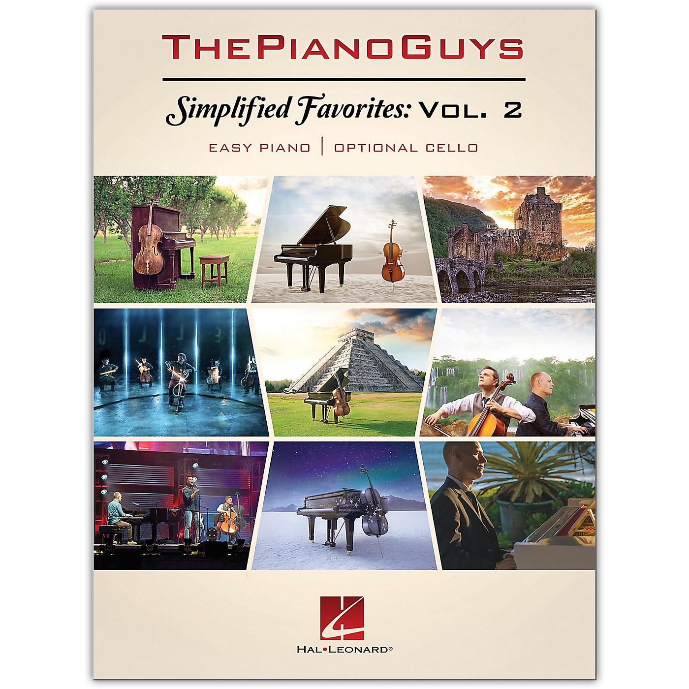 Hal Leonard The Piano Guys - Simplified Favorites, Volume 2 Easy Piano/ Opt. Cello thumbnail