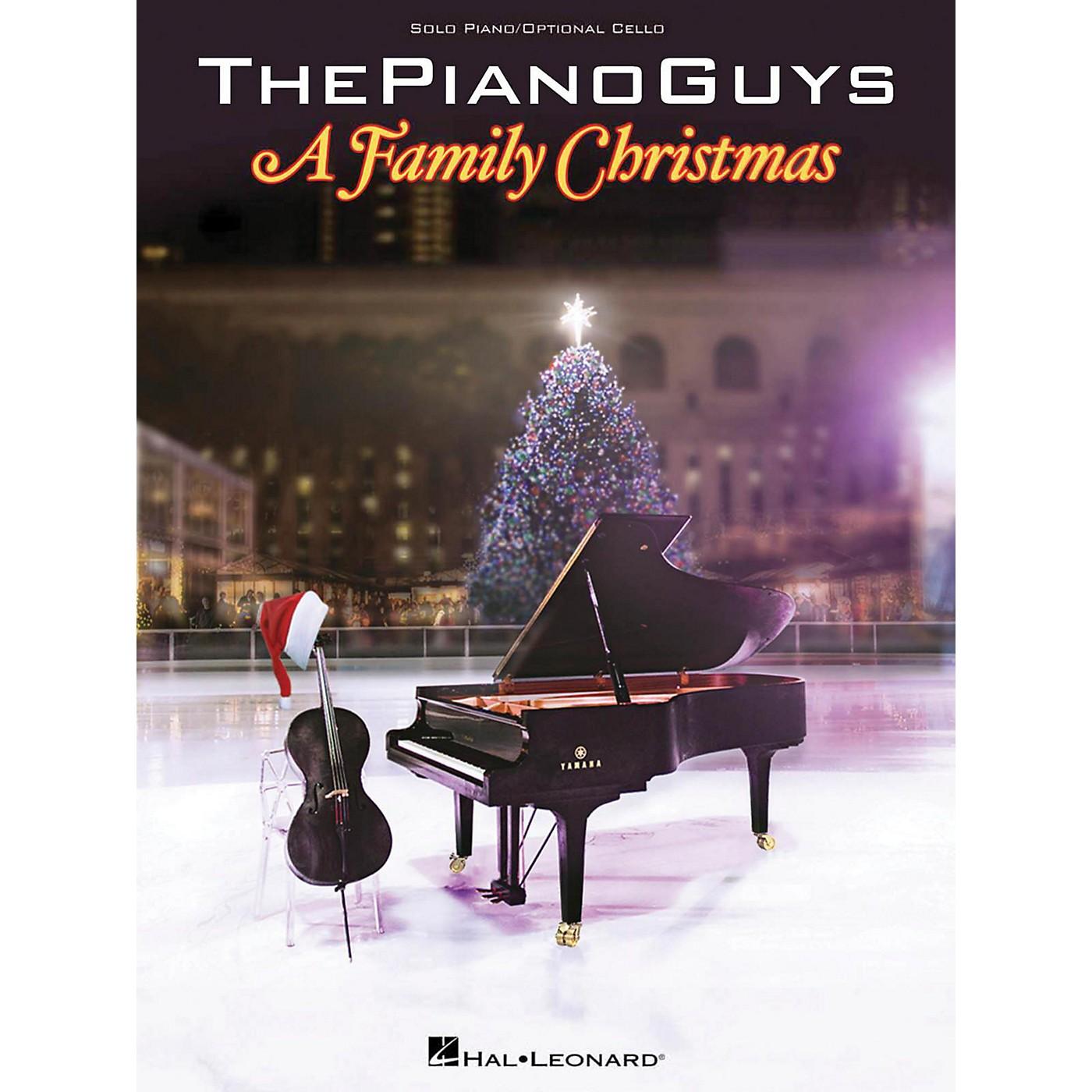 Hal Leonard The Piano Guys A Family Christmas thumbnail