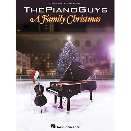 Hal Leonard The Piano Guys A Family Christmas thumbnail