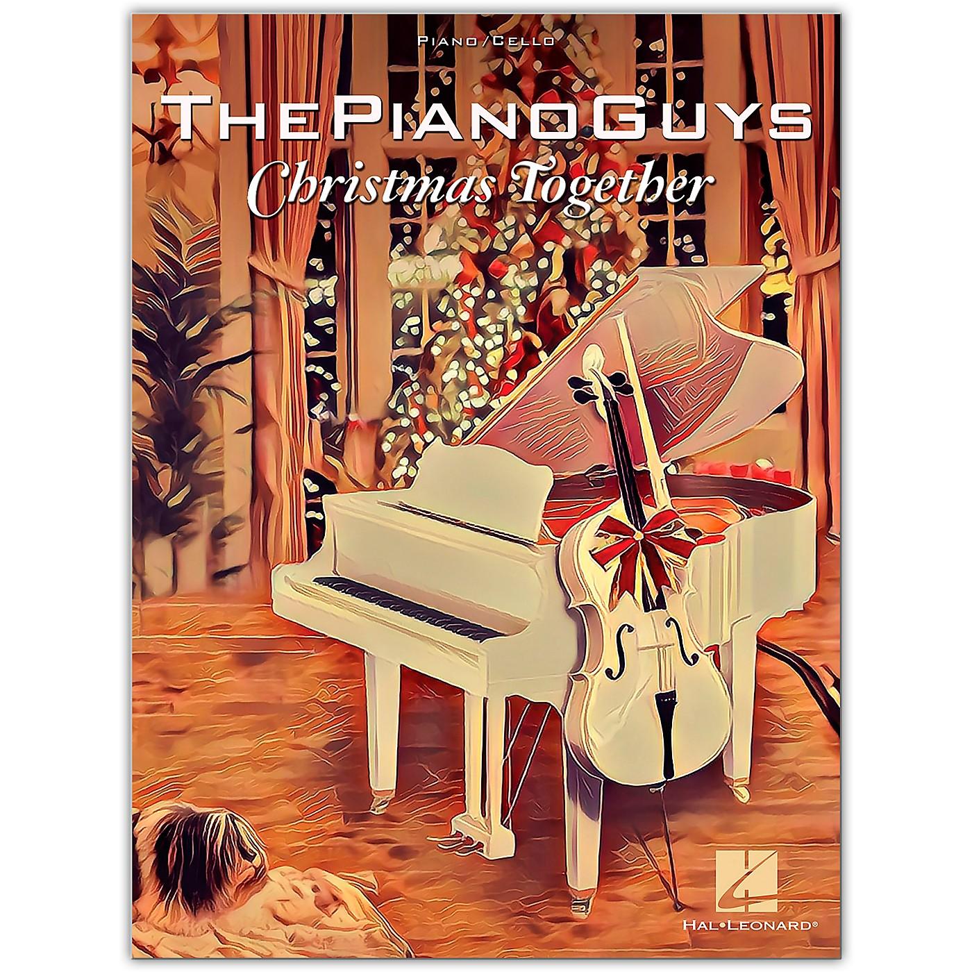 Hal Leonard The Piano Guys-Christmas Together Piano Solo with Optional Cello thumbnail