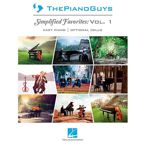 Hal Leonard The Piano Guys  Simplified Favorites, Vol. 1. for Easy Piano/Cello thumbnail