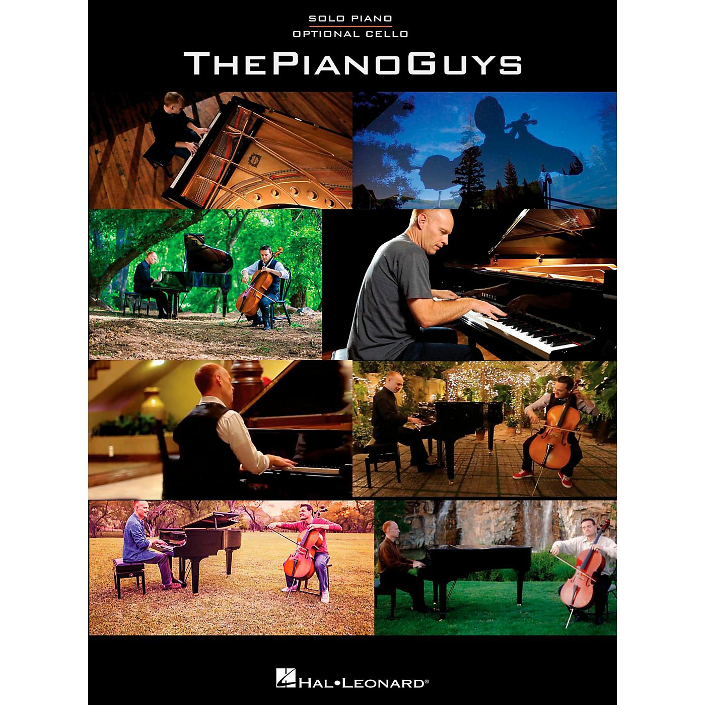 Hal Leonard The Piano Guys for Solo Piano with Optional Cello thumbnail