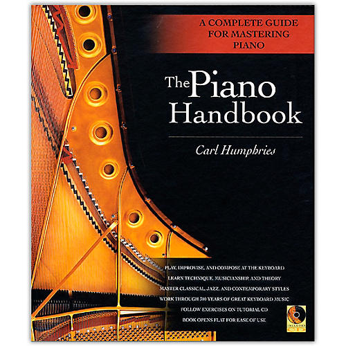 Backbeat Books The Piano Handbook - A Complete Guide for Mastering Piano (Hardcover Book/Online Audio) thumbnail