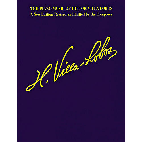 Music Sales The Piano Music of Heitor Villa-Lobos (Music for Millions Series) Music Sales America Series Softcover thumbnail