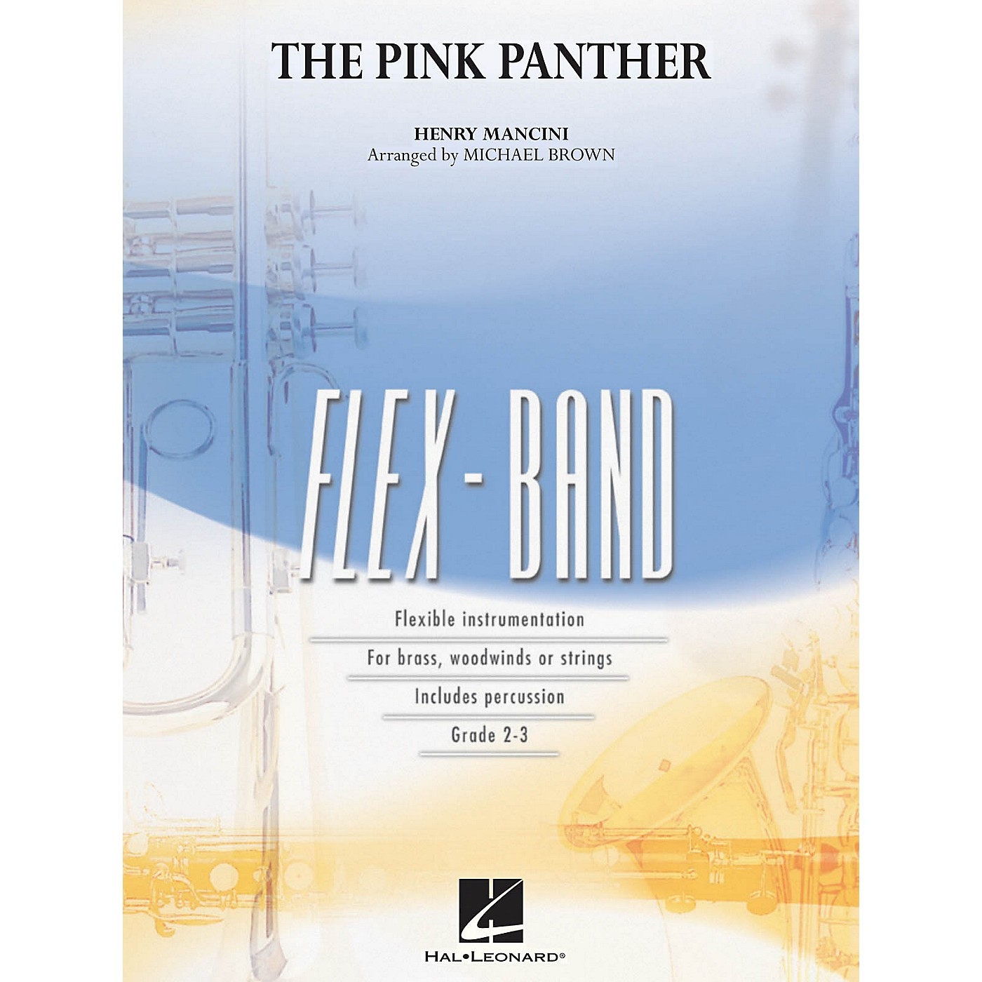 Hal Leonard The Pink Panther Concert Band Level 2-3 Arranged by Michael Brown thumbnail