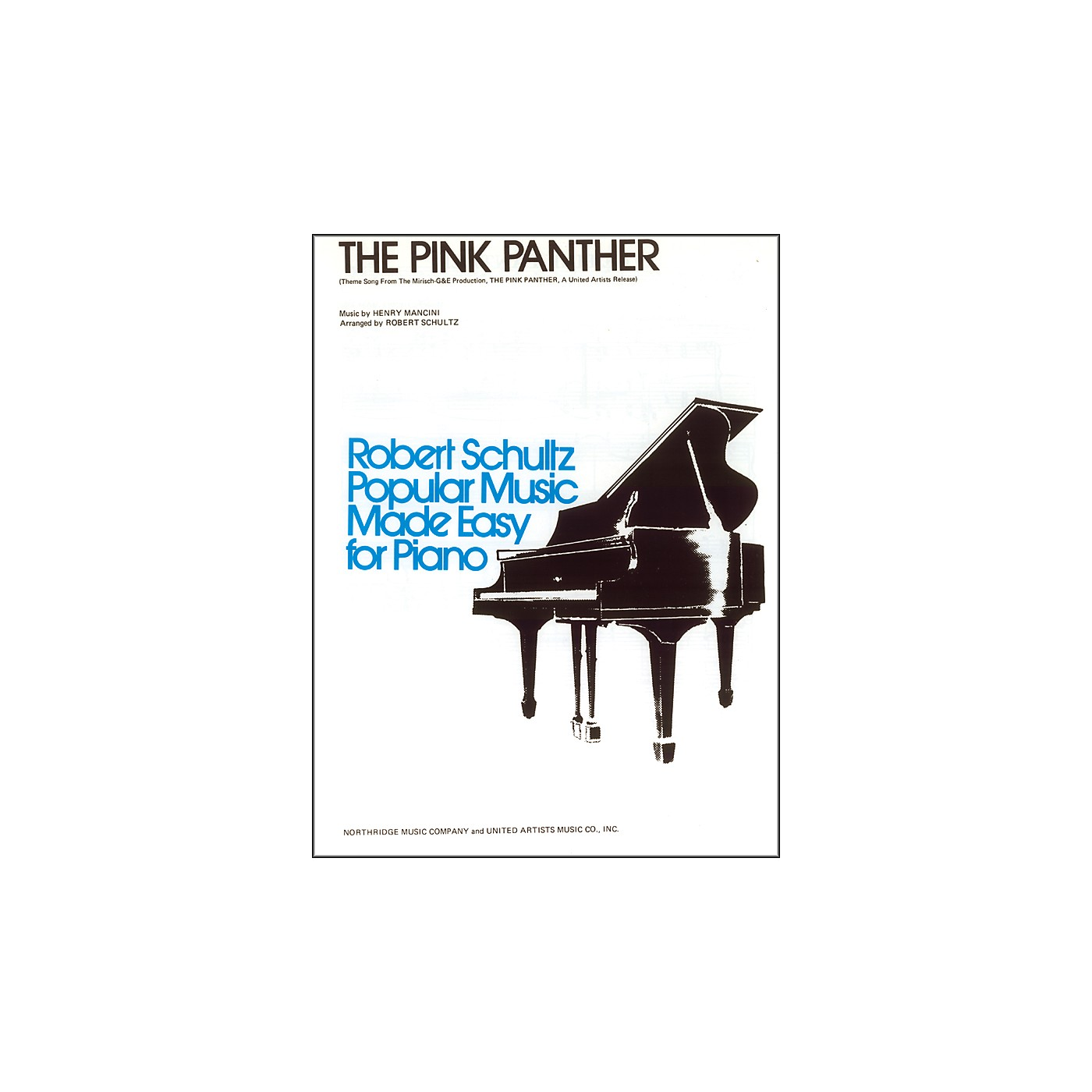 Alfred The Pink Panther Early Intermediate Piano Sheet thumbnail