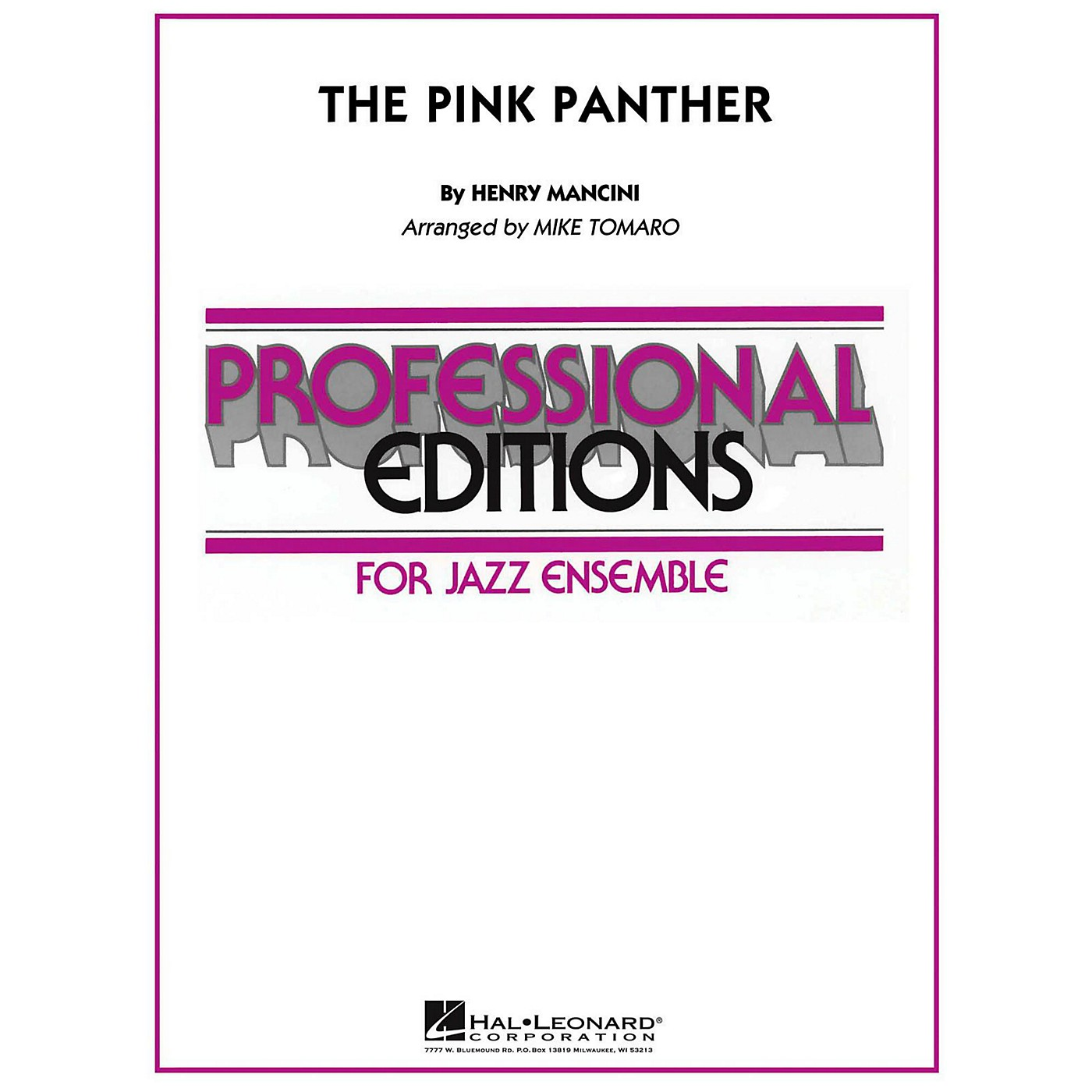 Hal Leonard The Pink Panther Jazz Band Level 5 thumbnail