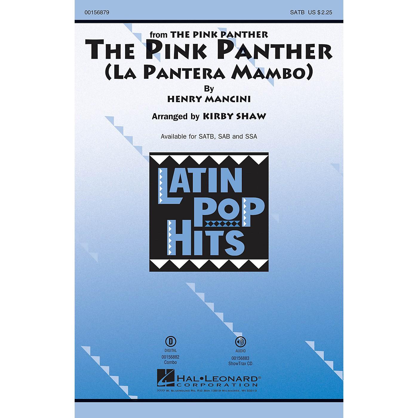 Hal Leonard The Pink Panther (La Pantera Mambo) SAB Arranged by Kirby Shaw thumbnail