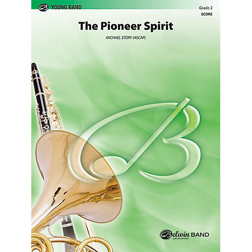 Alfred The Pioneer Spirit Concert Band Grade 2 Set thumbnail