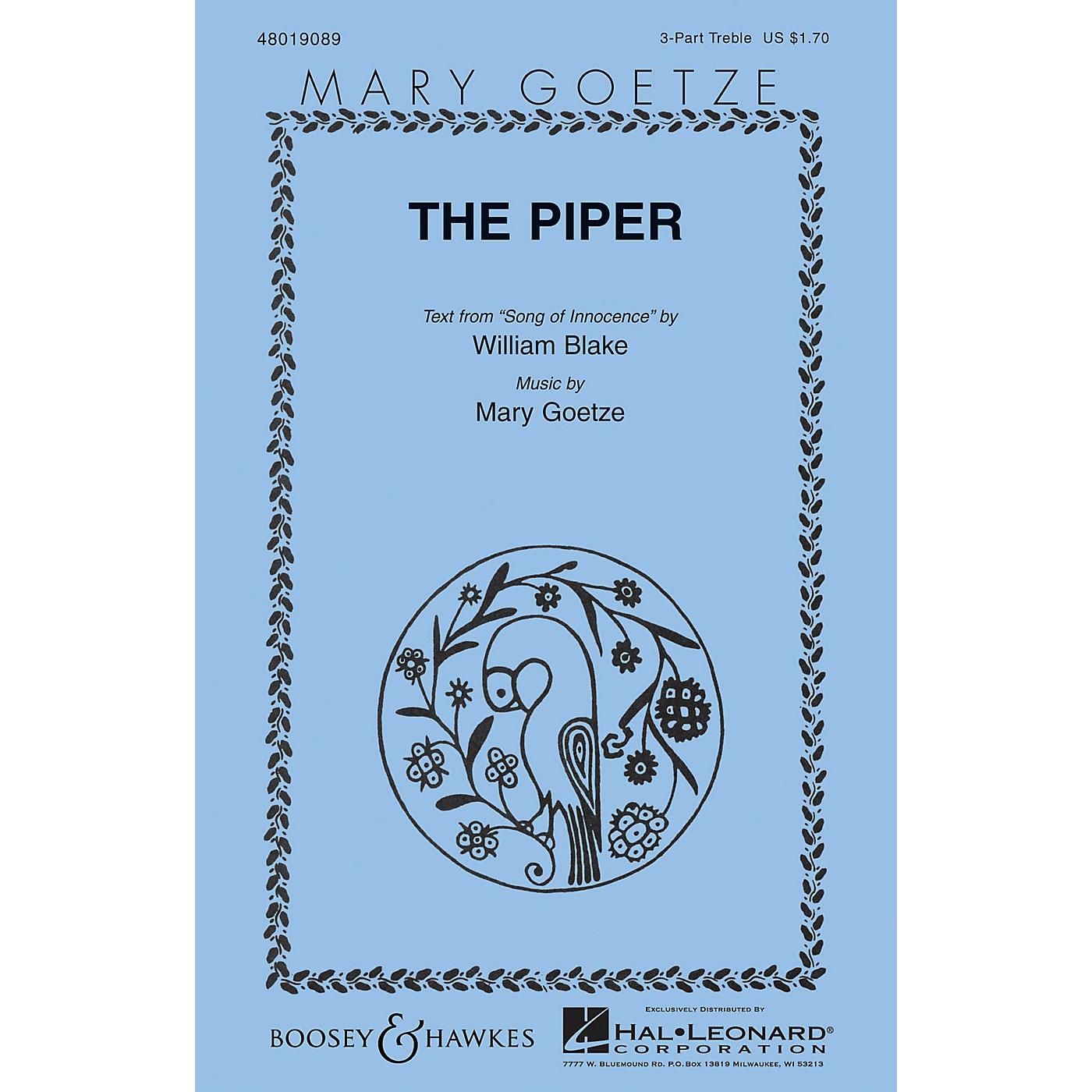 Boosey and Hawkes The Piper 3 Part Treble composed by Mary Goetze thumbnail