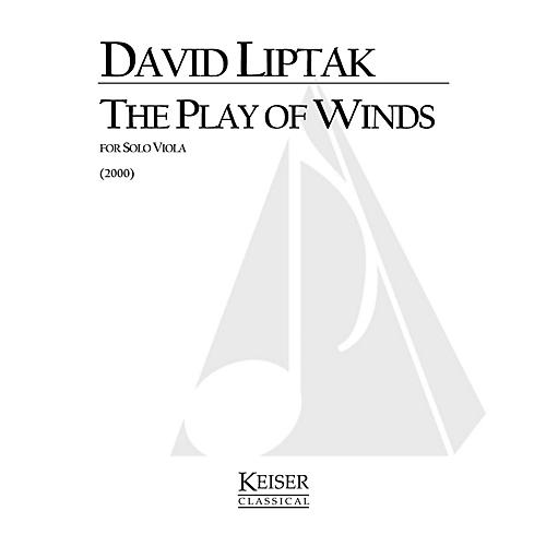 Lauren Keiser Music Publishing The Play of Winds (Viola Solo) LKM Music Series Composed by David Liptak thumbnail