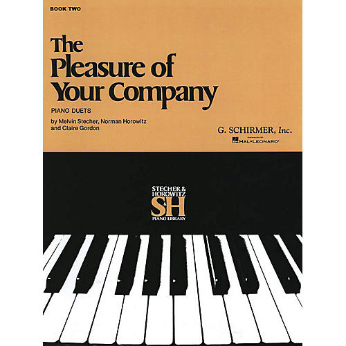 G. Schirmer The Pleasure of Your Company - Book 2 (Piano Duet) Piano Duet Series Composed by Various thumbnail