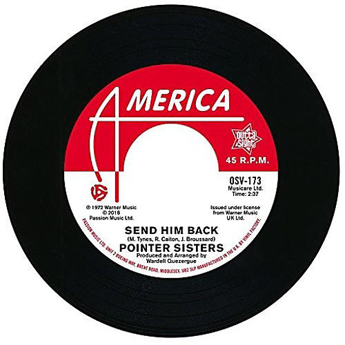 Alliance The Pointer Sisters - Send Him Back / You Got To Pay Your Dues thumbnail