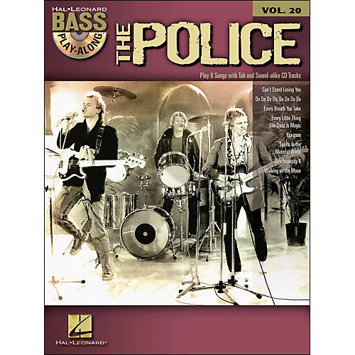 Hal Leonard The Police - Bass Play-Along Volume 20 (Book/CD) thumbnail
