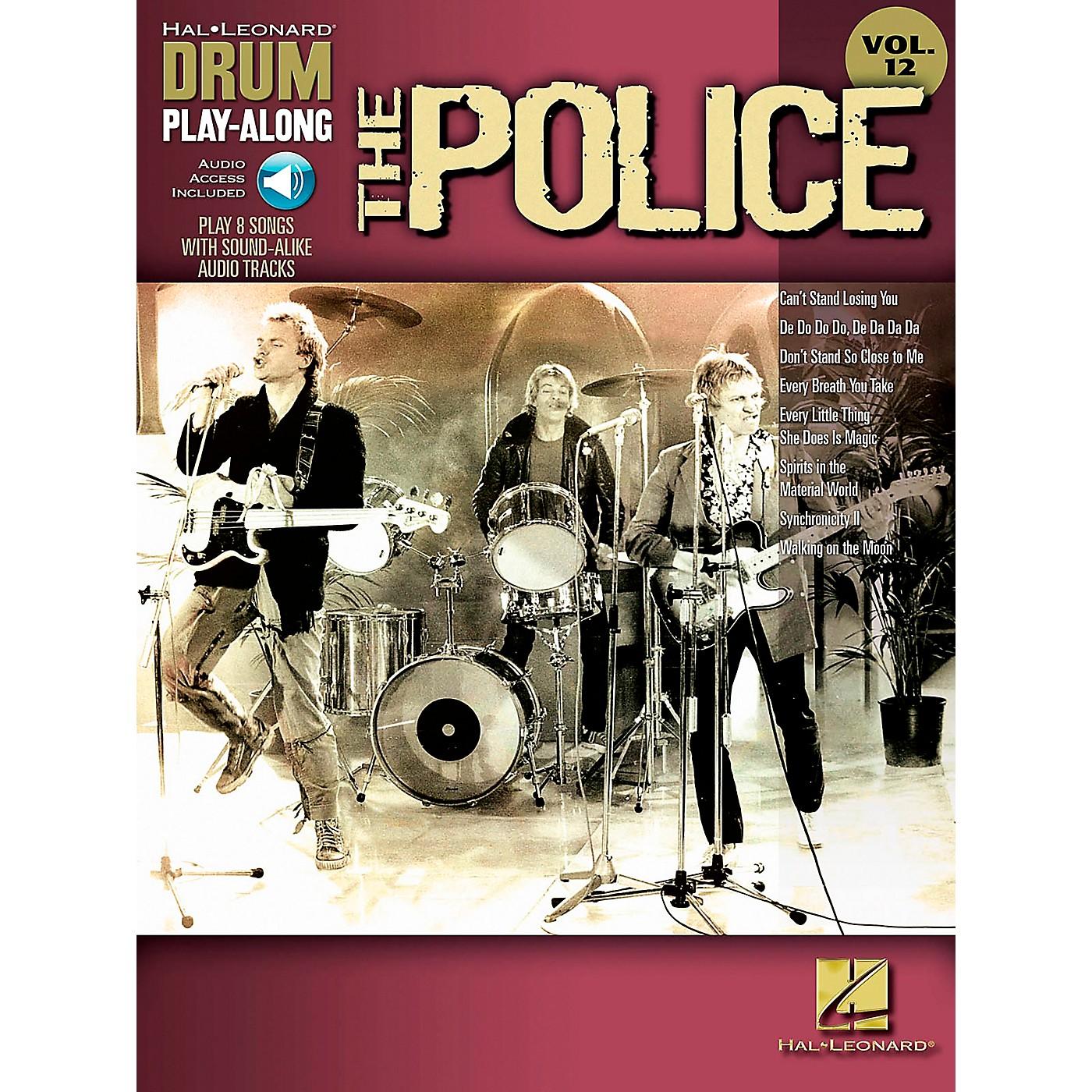 Hal Leonard The Police - Drum Play-Along Volume 12 Book/CD thumbnail