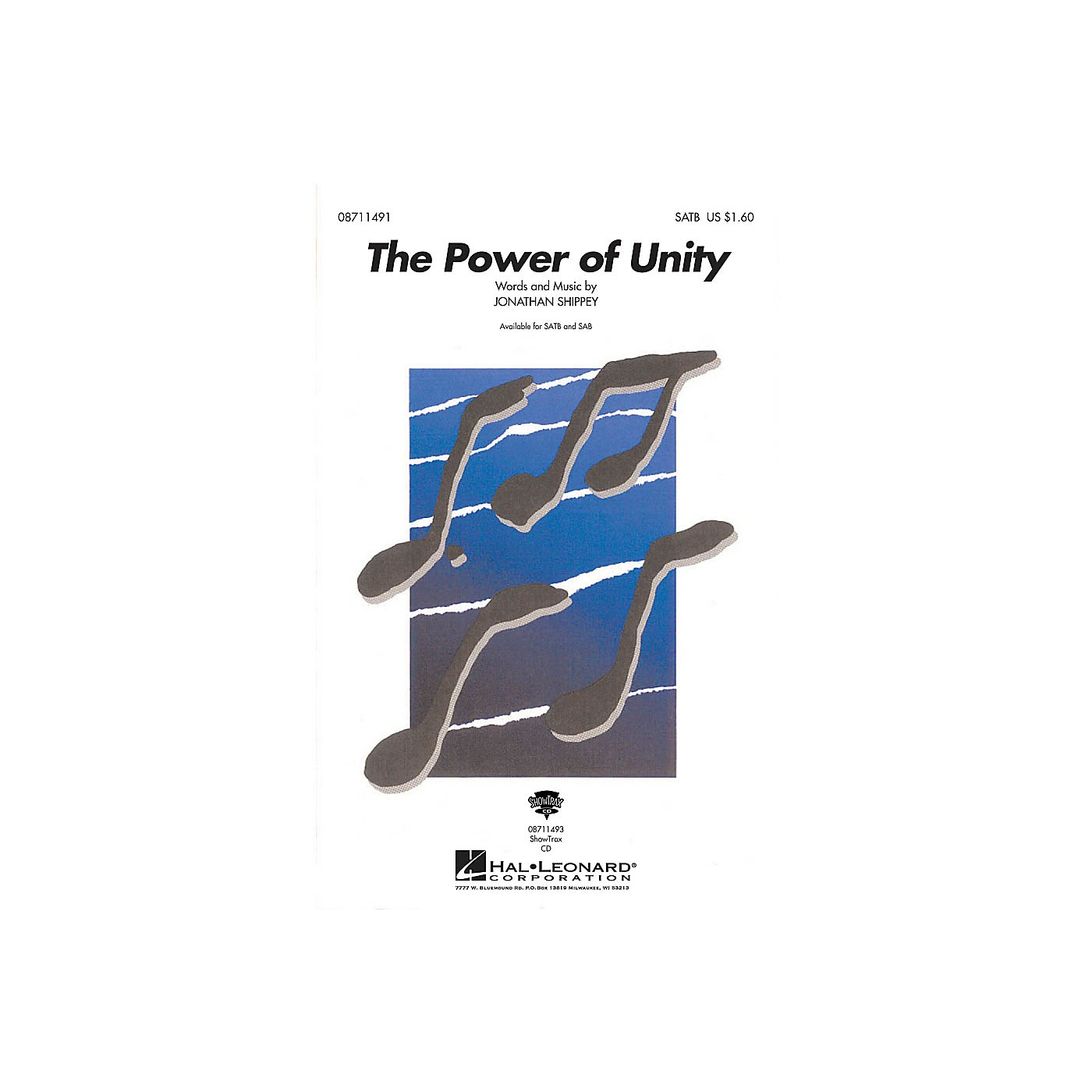 Hal Leonard The Power Of Unity SATB composed by Jonathan Shippey thumbnail