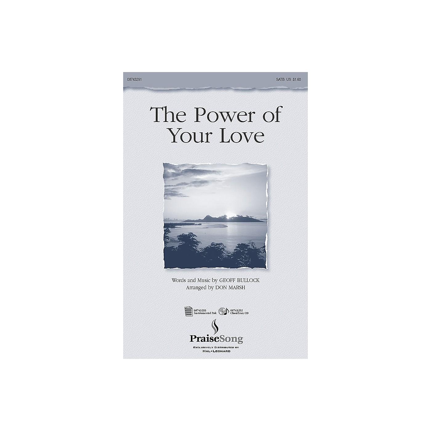 PraiseSong The Power of Your Love (Instrumental Pak) IPAKO Arranged by Don Marsh thumbnail