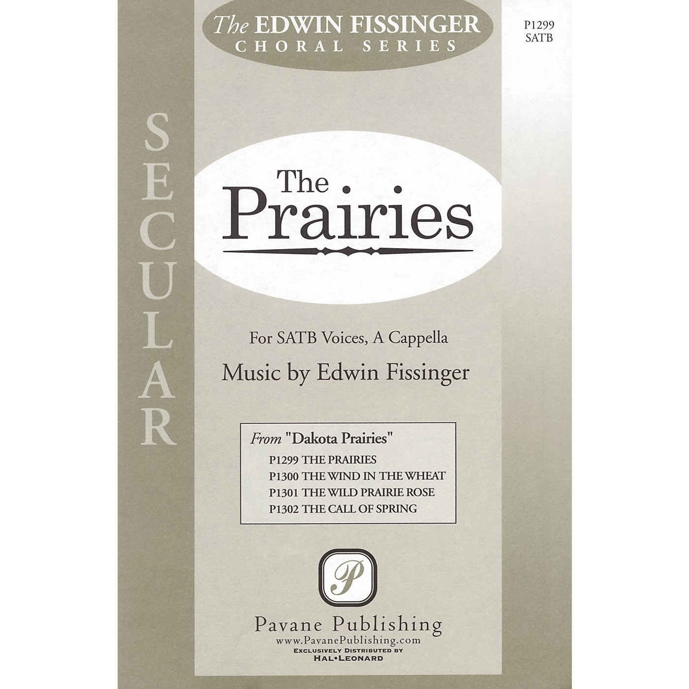 Pavane The Prairies SATB a cappella composed by Edwin Fissinger thumbnail