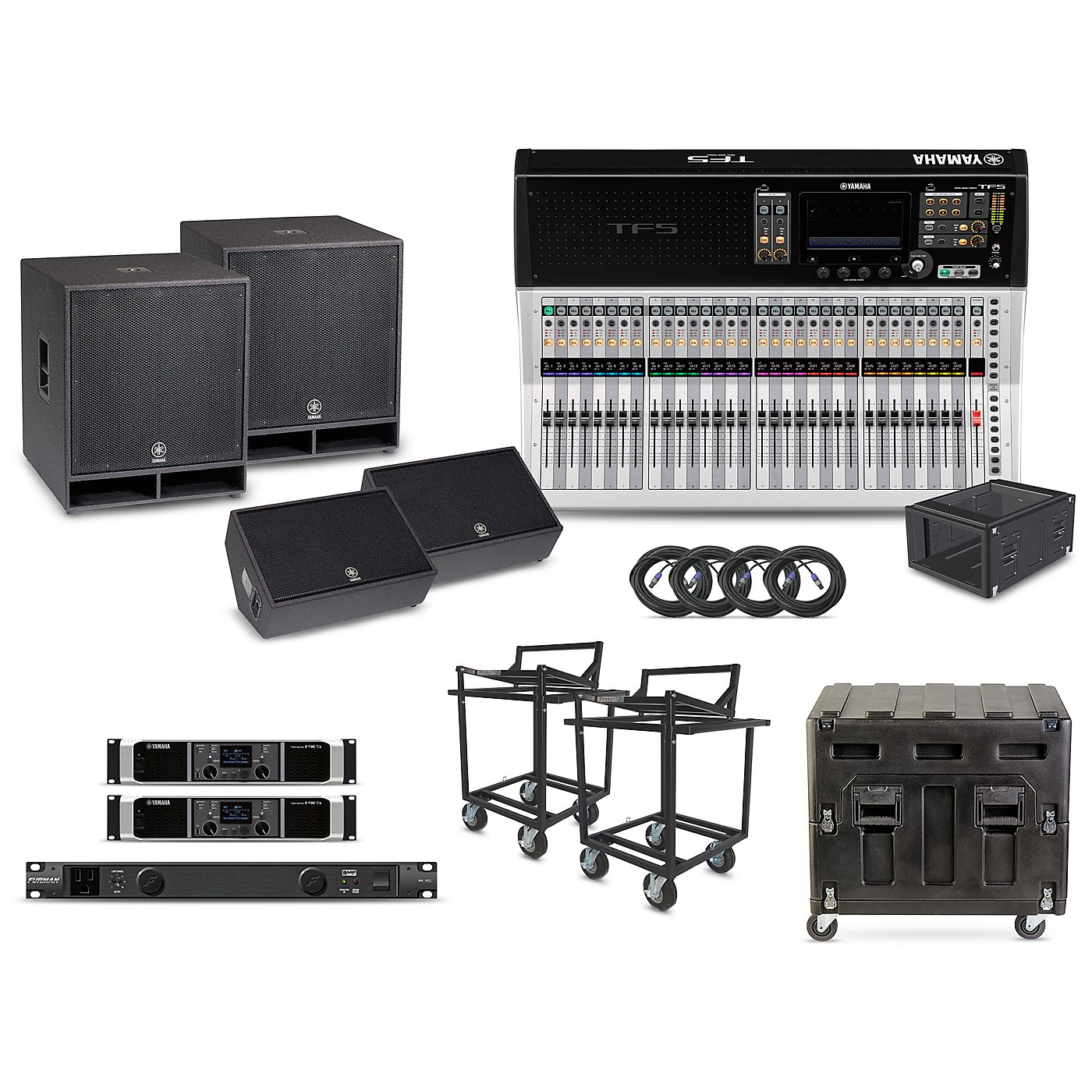 Yamaha The Primary Package - Field PA System with Digital Mixer thumbnail