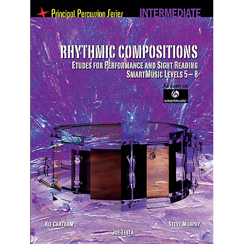Hal Leonard The Principal Percussion Series Inter Level - Rhythmic Comp - Etudes for Perf and Sight Reading thumbnail
