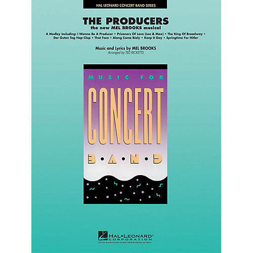Hal Leonard The Producers Concert Band Level 4 Arranged by Ted Ricketts thumbnail