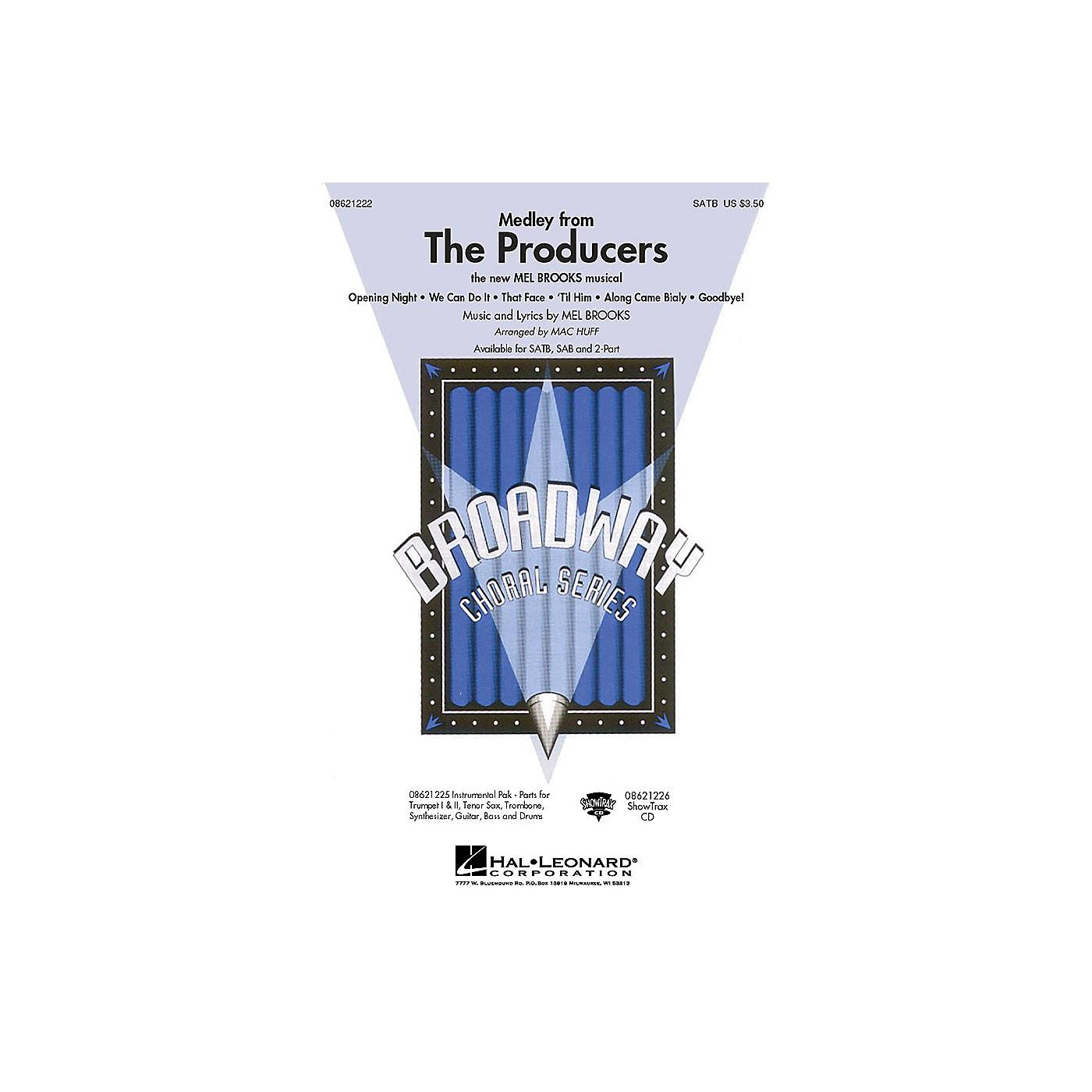 Hal Leonard The Producers (Medley) (SATB) SATB arranged by Mac Huff thumbnail